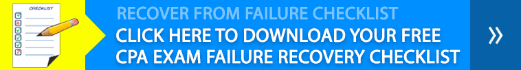 CPA Exam Failure Recovery Checklist