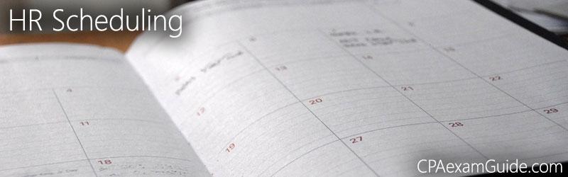 HR-Scheduling